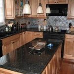 Black Countertops in Kitchen