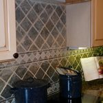 Tiled Walls Kitchen